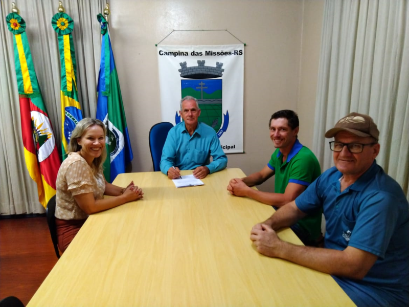 POSSE DO SERVIDOR PÚBLICO MUNICIPAL JOSÉ TIAGO JUNGES